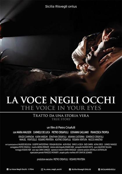 Locandina film La voce negli occhi
