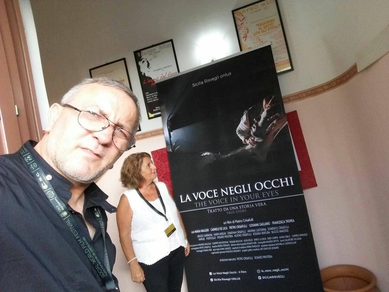 LA VOCE NEGLI OCCHI FILM