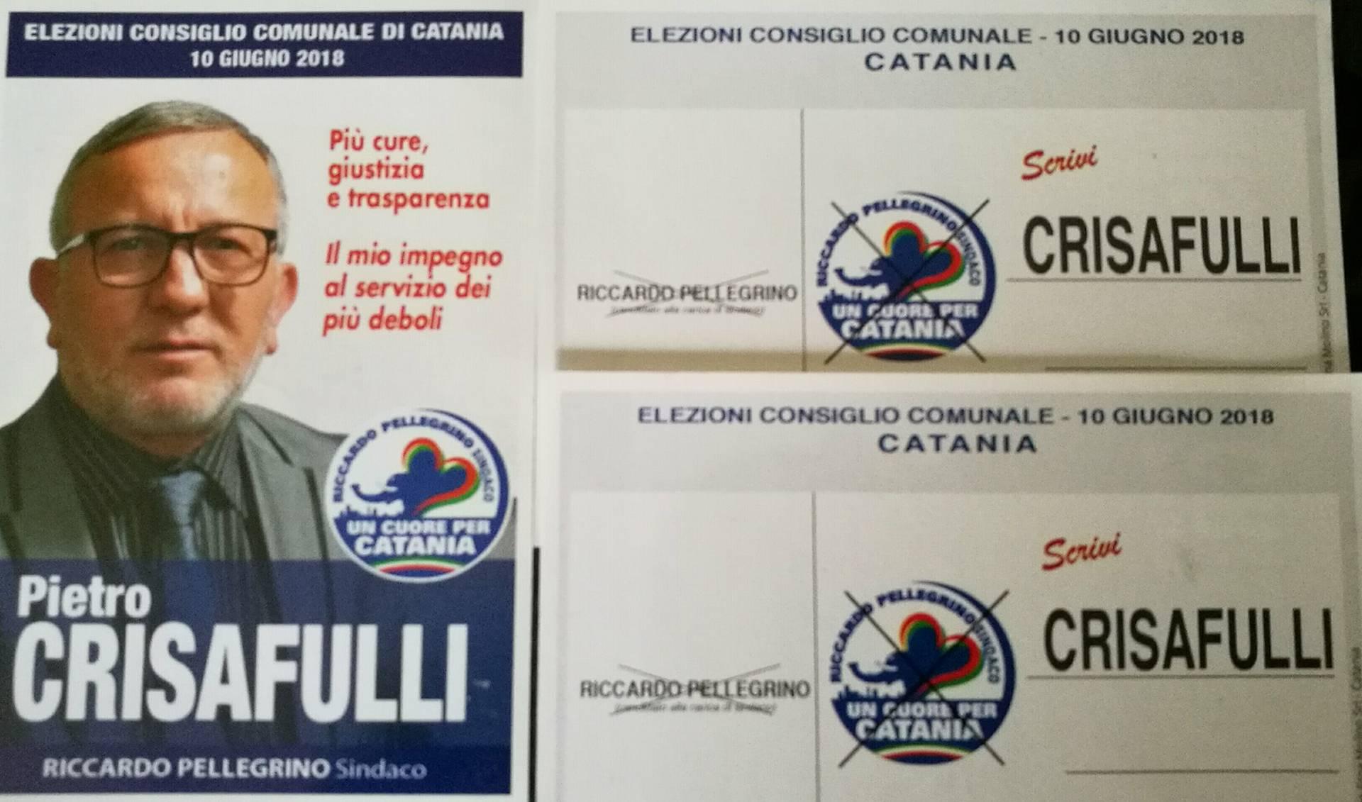 Elezioni catania crisafulli