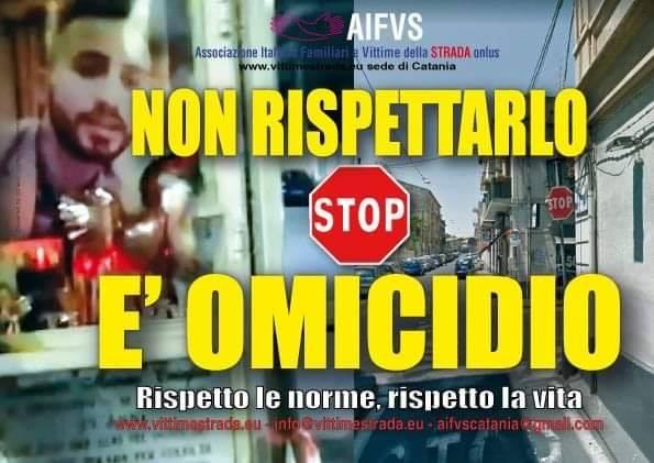 Giornata Mondiale – Volantino – Non rispettare lo stop è omicidio (1)